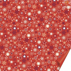 Origami papir Lucia rdeč 15x15cm 30 listov