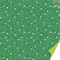 Origami papir Novoletni zeleni 15x15cm 64 listov