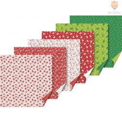 Origami papir Novoletni miks 15x15cm 30 listov