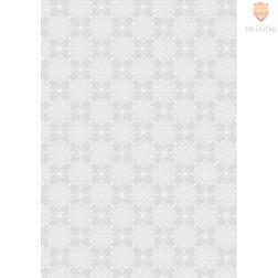 Transparentni papir z vzorcem rozet 50x70cm 1 pola