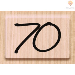 Lesena štampiljka 70 1 kos