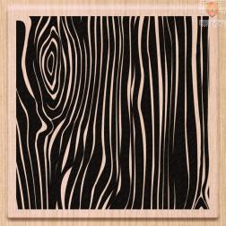 Lesena štampiljka Relief lesa 1 kos