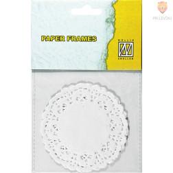 Papirnati prtički premera 8,9cm 12 kosov