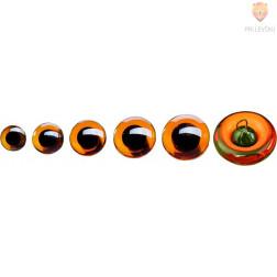 Stekleno oko za šivanje 10-16mm 2 kosa