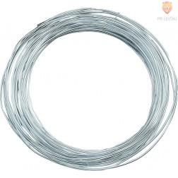 Žica srebrne barve 0,6mmx10m