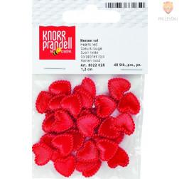 Plastični srčki 1,2cm 48 kosov