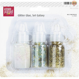 Bleščice v lepilu Galaxy 3x30ml