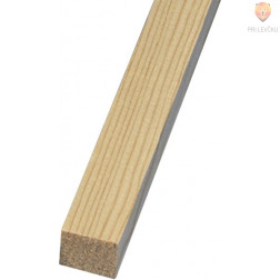 Lesena palica kvadratna 5mmx5mmx1m 1 kos
