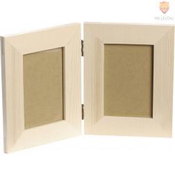 Leseni okvir za slike 27x17cm