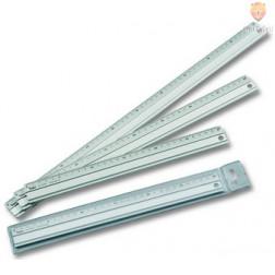 Aluminijasto ravnilo dolžine 30 cm