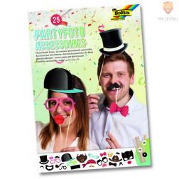 Dekoracija za fotografiranje Zabava 25 kosov