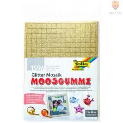 Samolepilni moos gumi mozaik z bleščicami 15x20cm 6 barv 1596 kosov