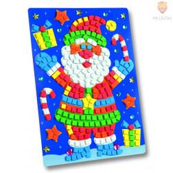 Moos gumi mozaik Božiček