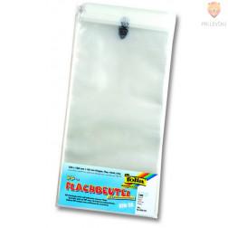 Celofan vrečke ploščate s samolepilnim robom 125x162mm 100 kosov
