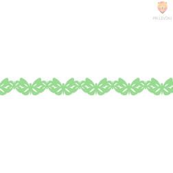 Washi dekor lepilni trak Zeleni metuljčki 1,5cmx5m