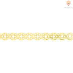 Washi dekor lepilni trak Gold 1,5cmx5m