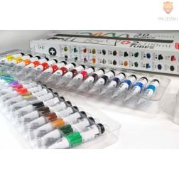 Set akrilnih barv STUDIO ACRYLICS 30x20ml+2x100ml