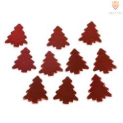 Lesene smrečice rdeče 10 kosov