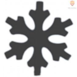 Luknjač mali 15mm Snežinka 2