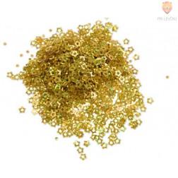 Bleščice zvezdice zlate 9 g