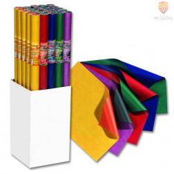 Darilni papir obojestranski kontrastne barve 70cmx2m 70g/m2