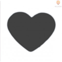 Luknjač mal 15mm Srce