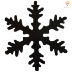 Luknjač srednji 25mm Snežinka