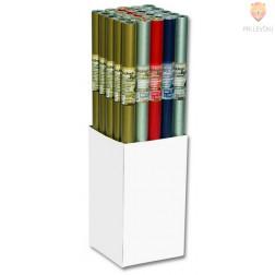Darilni papir obojestranski metalni 70cmx2m 70g/m2