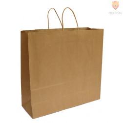 Darilna vrečka naravna 43 x 41 x 15 cm