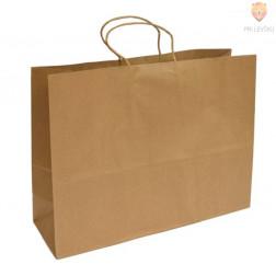 Darilna vrečka naravna 42 x 31 x 13 cm