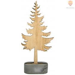 Leseno drevo 23x10cm 1 kos