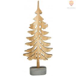Leseno drevo 28x12cm 1 kos