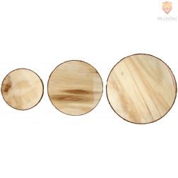 Lesena plošča premer 15-25cm