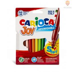 Flomastri šolski Joy debelina konice 2,6mm 12 kosov