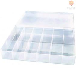 Plastična škatla za shranjevanje 18x26,5x4cm 1 kos