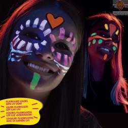 Barve za obraz MASK UP Neon 6 kosov