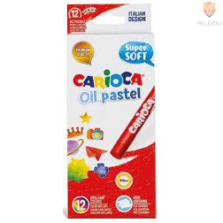 Carioca oljni pasteli Maxy super mehki 12 kosov