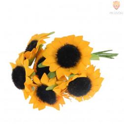 Umetne sončnice 4cm 6 kosov