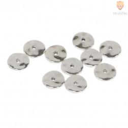 Vmesni členi okrogli ploščati 12x2mm 10 kosov