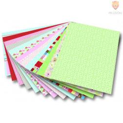 """Motivkarton z vzorci """"Poletje"""" - 50 cm x 70 cm"""
