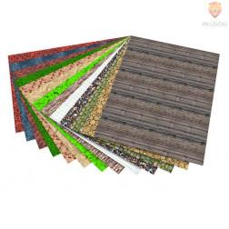 Karton z motivi Strukture 270g/m2 50x70cm 1 kos