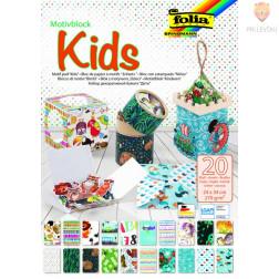 Motivblok Kids 24 cm x 34 cm 20 listov
