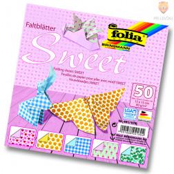 Origami papir Sweet 15cmx15cm 50 listov