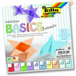 Origami BASICS Intensiv 80g/m2 15x15cm 50 kosov