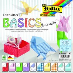 Origami Basics Intensiv 20x20cm 50 listov