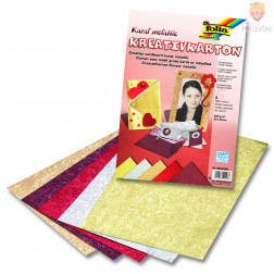 "Kreativ karton ""Karat Metallic"" - 23 cm x 33 cm"