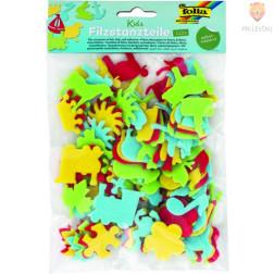 Filc izrezane oblike Kids samolepilne 112 kosov