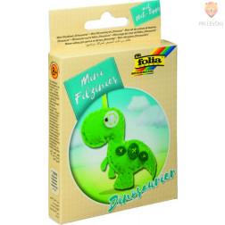 Mini filc set za šivanje Dinozaver