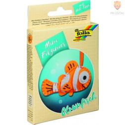 Mini filc set za šivanje Klovnovska ribica