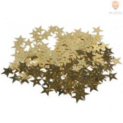 Bleščice zlate zvezdice za lepljenje in šivanje 12 g